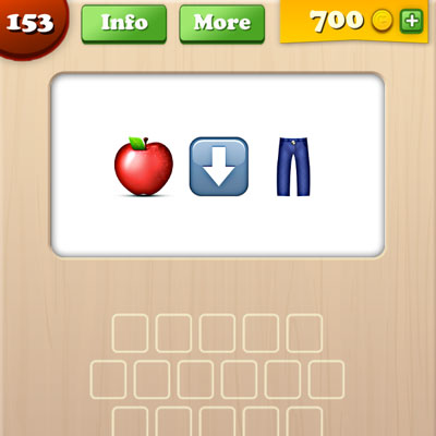 Apple Bottom Jeans | Emoji Words Answers | Emoji Words Cheats